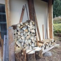 Holzernte eingebracht 1